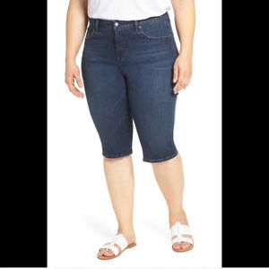 Lucky Brand Women's 24w Plus Size Ginger Bermuda